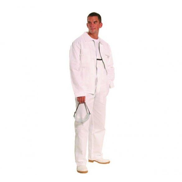 Munkavédelmi kabát fehér 42