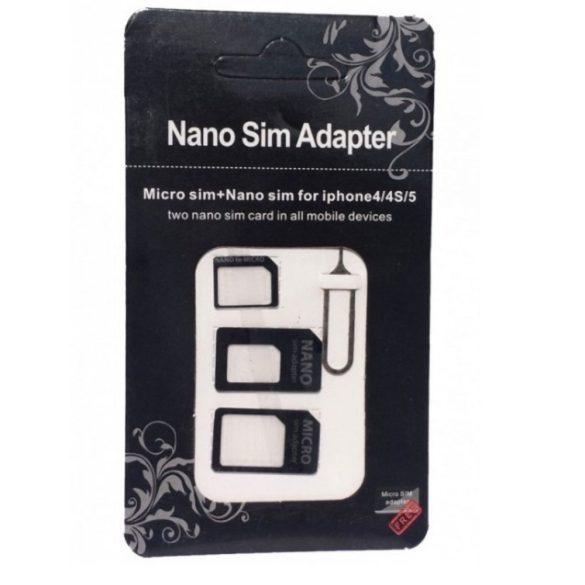 Noosy nano és micro 3 az 1-ben SIM kártya