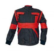 Kabát feketepiros Max  44