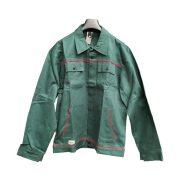 Munkavédelmi kabát Optima zöld pamut 64