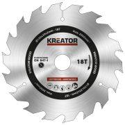 Kreator körfűrészlap 150 mm 18 fog fa  KRT020406