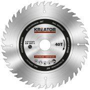 Kreator körfűrészlap 150 mm 40 fog fa  KRT020407