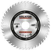 Kreator körfűrészlap 170 mm 48 fog fa  KRT020413