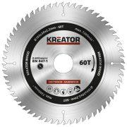 Kreator körfűrészlap 185 mm 60 fog fa  KRT020415