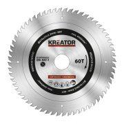 Kreator körfűrészlap 210 mm 60 fog fa  KRT020422