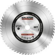 Kreator körfűrészlap 305 mm 60 fog fa  KRT020430