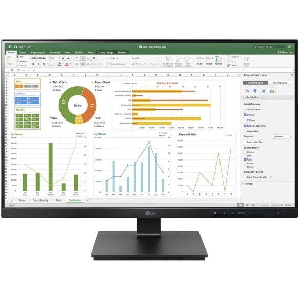 "27BN65Q 27"" Monitor, IPS,QHD, HDMI,DP,USB, black"