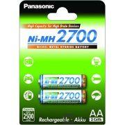 Panasonic AA 2700mAh Ni-MH akkumulátor (BK3HGAE-2BE)
