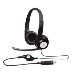 Logitech Headset H390 USB mikrofonos fejhallgató
