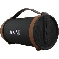 Akai ABTS-22 aktív hordozható Bluetooth hangszóró, Fekete-Barna