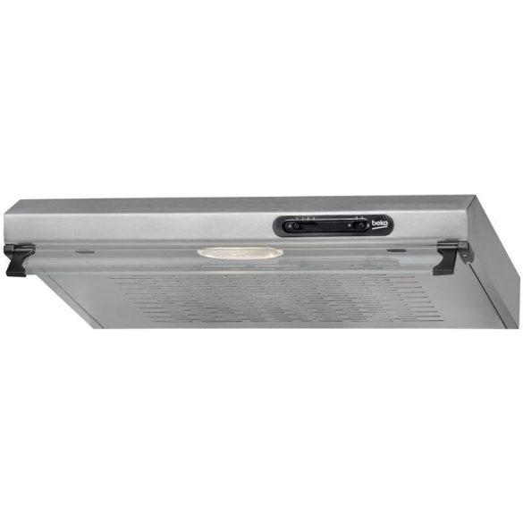 Beko Páraelszívó szekrény alá építhető CFB 6310 X (160 m3/h; 600mm; inox szín)