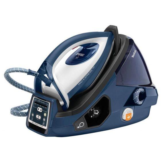 Tefal Pro Express Care GV 9071 2400 W 1,6 L Durilium AirGlide Autoclean talp kék, fehér