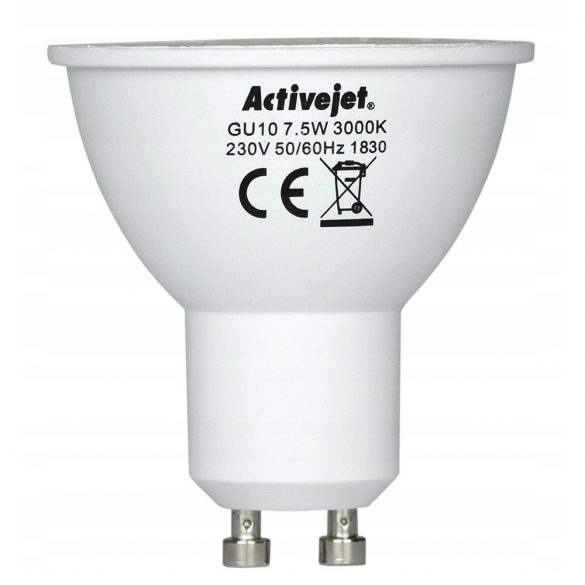 ActiveJet AJES3710W 7,5W GU10 600lm izzó