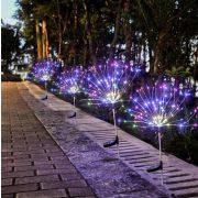 Szolár kültéri kreatív fények