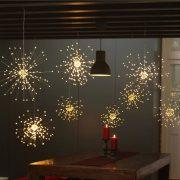 Karácsonyi égő - tűzijáték forma