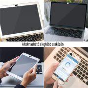 Kamera takaró okostelefonra, laptopra, tabletre