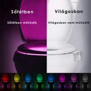 WC világítás