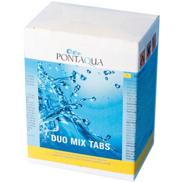 Pontaqua DUO MIX fertőtlenítő klórtabletták 5x120 (DMT 006)