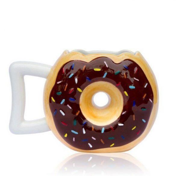 Kerámia kávés bögre (barna)