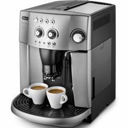 DeLonghi ESAM4200. S Magnifica automata kávéfőző 15 bar , szemes és őrölt kávé, CRF technológia ezüst