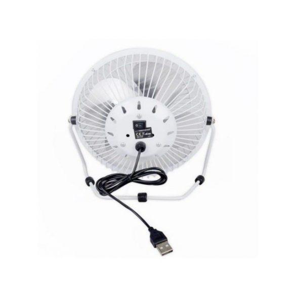"Esperanza Yugo EA149W 6""-os USB asztali ventilátor fehér"