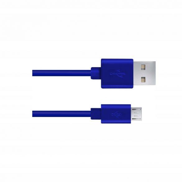 Esperanza MICRO USB KÁBEL2.0 A-B M/M 0.8M Kék