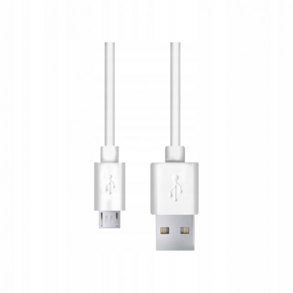 Esperanza MICRO USB KÁBEL2.0 A-B M/M 0.8M Fehér