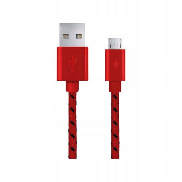 Esperanza FONOTT MICRO USB 2.0 Kábel A-B M/M 1M Piros