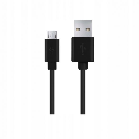 Esperanza MICRO USB KÁBEL2.0 A-B M/M 0.5M Fekete