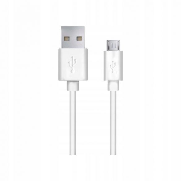 Esperanza MICRO USB KÁBEL2.0 A-B M/M 0.5M Fehér