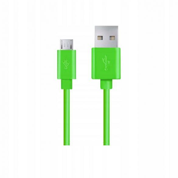 Esperanza MICRO USB KÁBEL2.0 A-B M/M 1.2M Zöld