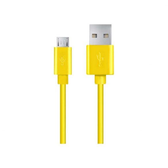 Esperanza MICRO USB KÁBEL2.0 A-B M/M 1.2M sárga