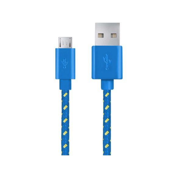 Esperanza MICRO USB KÁBEL2.0 A-B M/M 2.0M FONOTT Kék