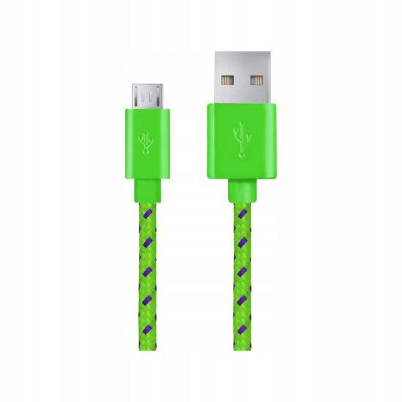 Esperanza MICRO USB KÁBEL2.0 A-B M/M 2.0M FONOTT Zöld