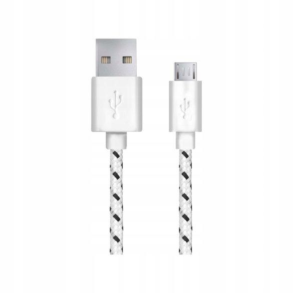 Esperanza MICRO USB KÁBEL2.0 A-B M/M 2.0M FONOTT Fehér