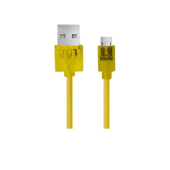 Esperanza MICRO USB KÁBEL2.0 A-B M/M 2.0M FONOTT sárga