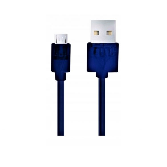 Esperanza MICRO USB 2.0 Kábel A-B M/M 1.5M DARK Kék