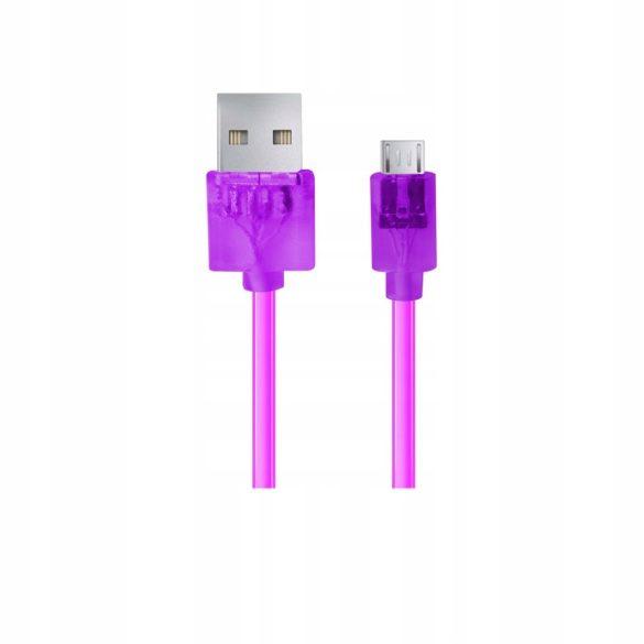 Esperanza MICRO USB 2.0 Kábel A-B M/M 1.5M lila