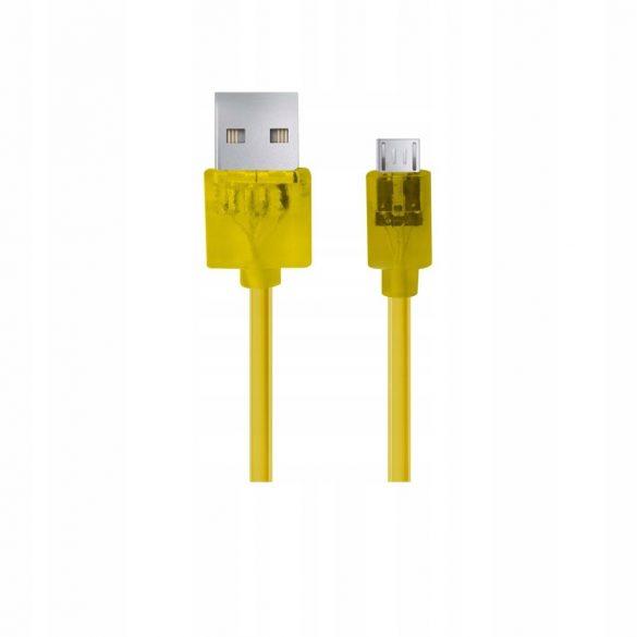 Esperanza MICRO USB 2.0 Kábel A-B M/M 1.5M sárga