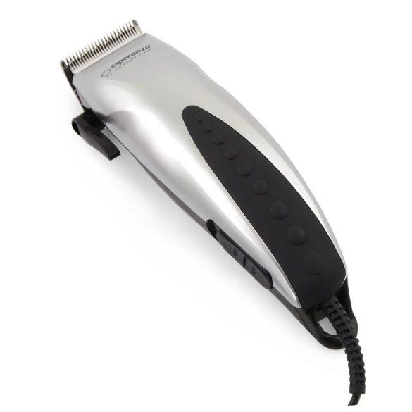 ESPERANZA STYLIST, EBC003 hajvágó 1, 2-12mm 10W ezüst-fekete