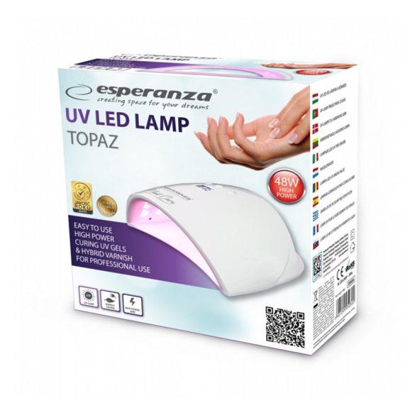 Esperanza EBN006 Topaz uv led körömlámpa 48W