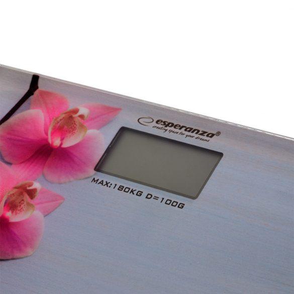 Esperanza EBS010 fürdőszobai Mérleg Orchid