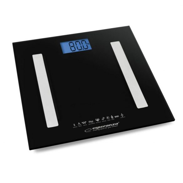 Esperanza EBS016K Bluetooth Személymérleg - fekete