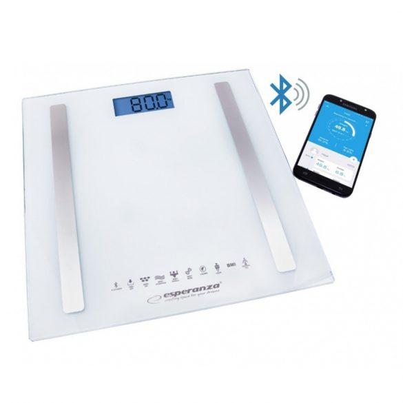 Esperanza EBS016W Bluetooth Személymérleg - Fehér