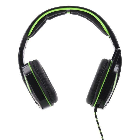 Esperanza Stereo gamer mikrofonos fejhallgató SNAKE