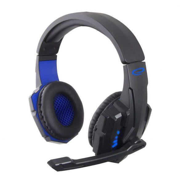 Esperanza STEREO gamer mikrofonos fejhallgató AVANGER EGH450