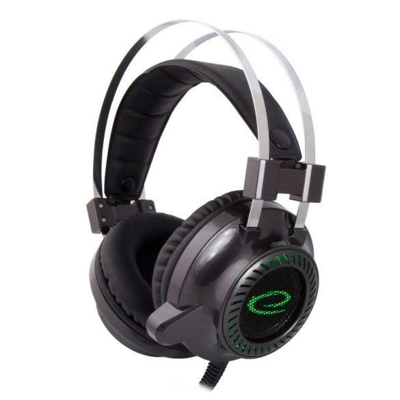 Esperanza Stereo gamer mikrofonos fejhallgató TOXIN