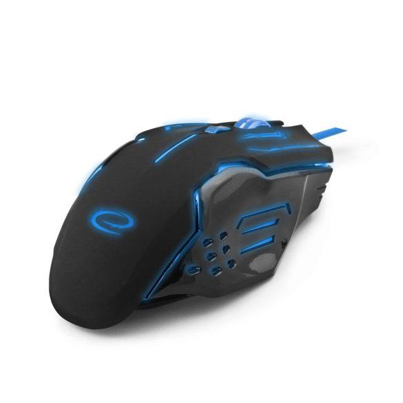 Esperanza Vezetékes gamer egér 6D optikai USB MX403 APACHE Kék