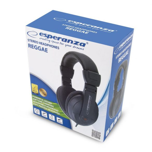 Esperanza Stereo AUDIO Fejhallgató REGGAE