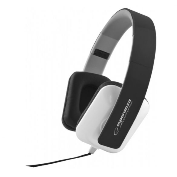 Esperanza Jazz EH137K sztereo fejhallgató fekete